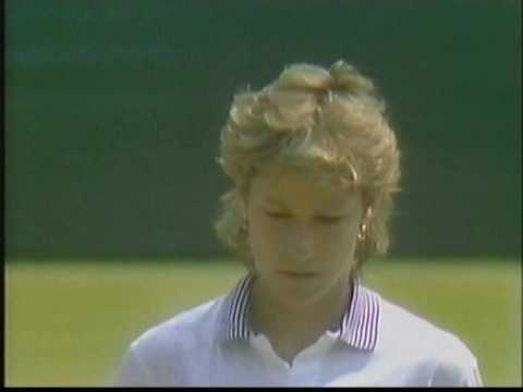 1984 Wimbledon SF Chris Evert Hana Mandlikova (4/4)