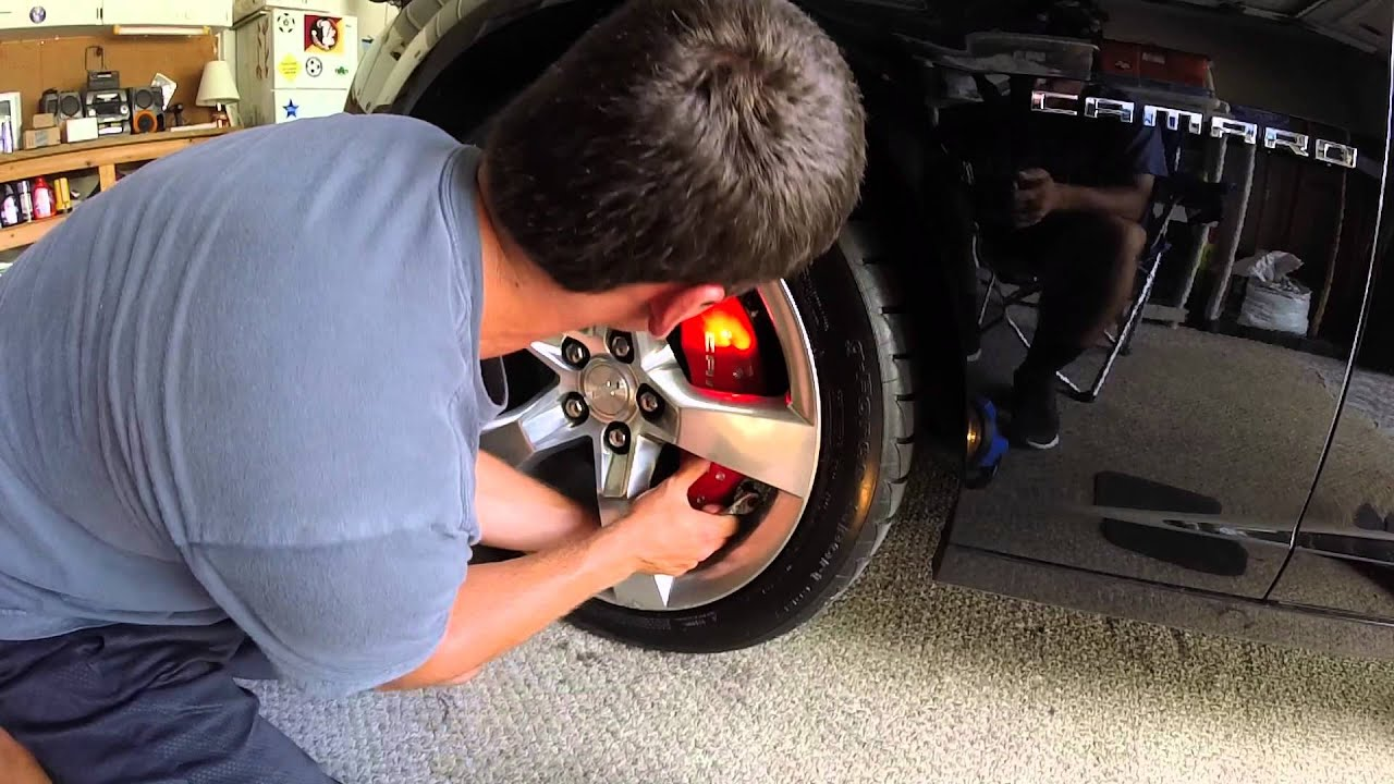 How To Install Mgp Brake Caliper Covers Youtube