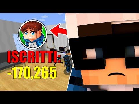 HO PERSO TUTTI I MIEI ISCRITTI - YouTube su Minecraft (Roleplay)