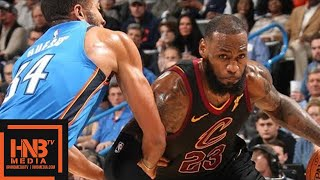 Cleveland Cavaliers vs Oklahoma City Thunder Full Game Highlights / Feb 13 / 2017-18 NBA Season thumbnail