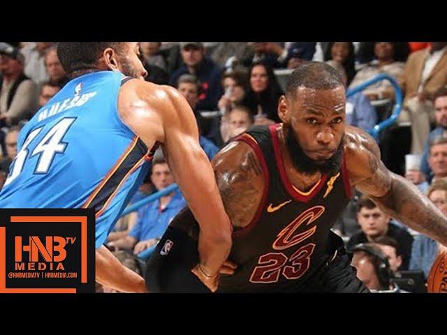Cleveland Cavaliers vs Oklahoma City Thunder Full Game Highlights / Feb 13 / 2017-18 NBA Season #1