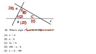 SAT Math - Geometry Substitution Strategy Preview