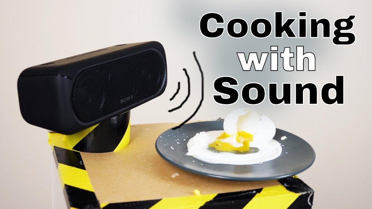 Download Can Loud Sounds Actually Cook Things? The Sound to Heat Experiment