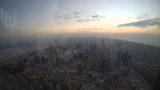 Burj Khalifa view & sunset