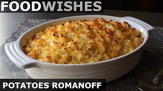 Gambar cover Potatoes Romanoff - Steakhouse Potato Gratin - Food Wishes