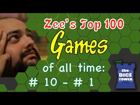 Zees Top 100 Games of all Time: # 10 - # 1