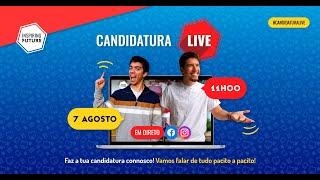 Candidatura LIVE 2020 - Passo a Passo!