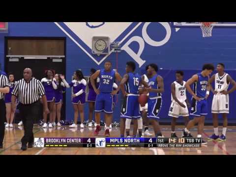 High School Boys Basketball: Brooklyn Center vs. Minneapolis North
