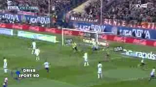 اهداف مباراة اتلتيكو مدريد 2-2 ريال مدريد 2014/3/2