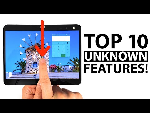 Top 10 Unknown Microsoft Surface Duo Features