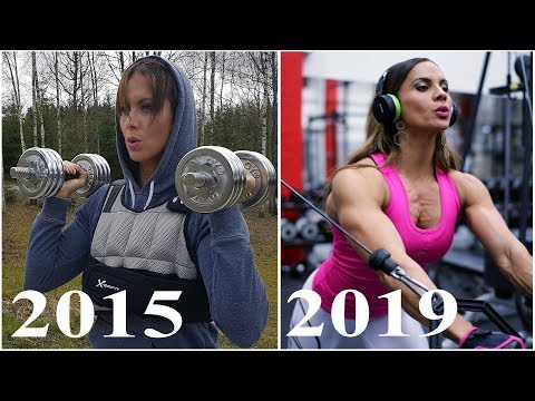 Muscle transformation of perfect girl | Arielle.P.Baker from YouTube · Duration:  4 minutes 48 seconds