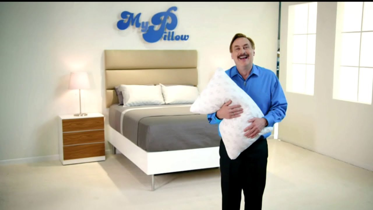 My Pillow Factory my pillow tv ad commercial september 2017