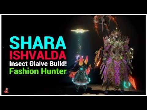 Mhw Iceborne Insect Glaive Build Shara Ishvalda Armor Fashion Hunting Youtube The shara ishvalda tenderplate is mainly used to create weapons and armor at the smithy. mhw iceborne insect glaive build shara ishvalda armor fashion hunting
