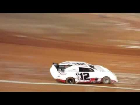 Donny Atkins 112 SUPER STOCK 4 Modoc Speedway Hotlaps 12/2/2016