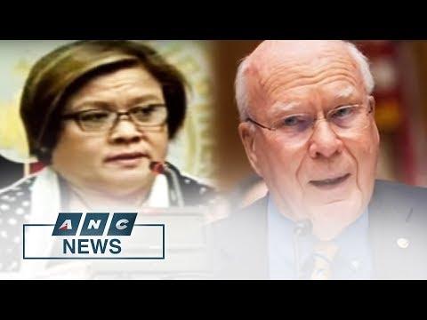 PH Justice Department Rejects Call Of U.S. Senators To Release Detained Senator De Lima   ANC News