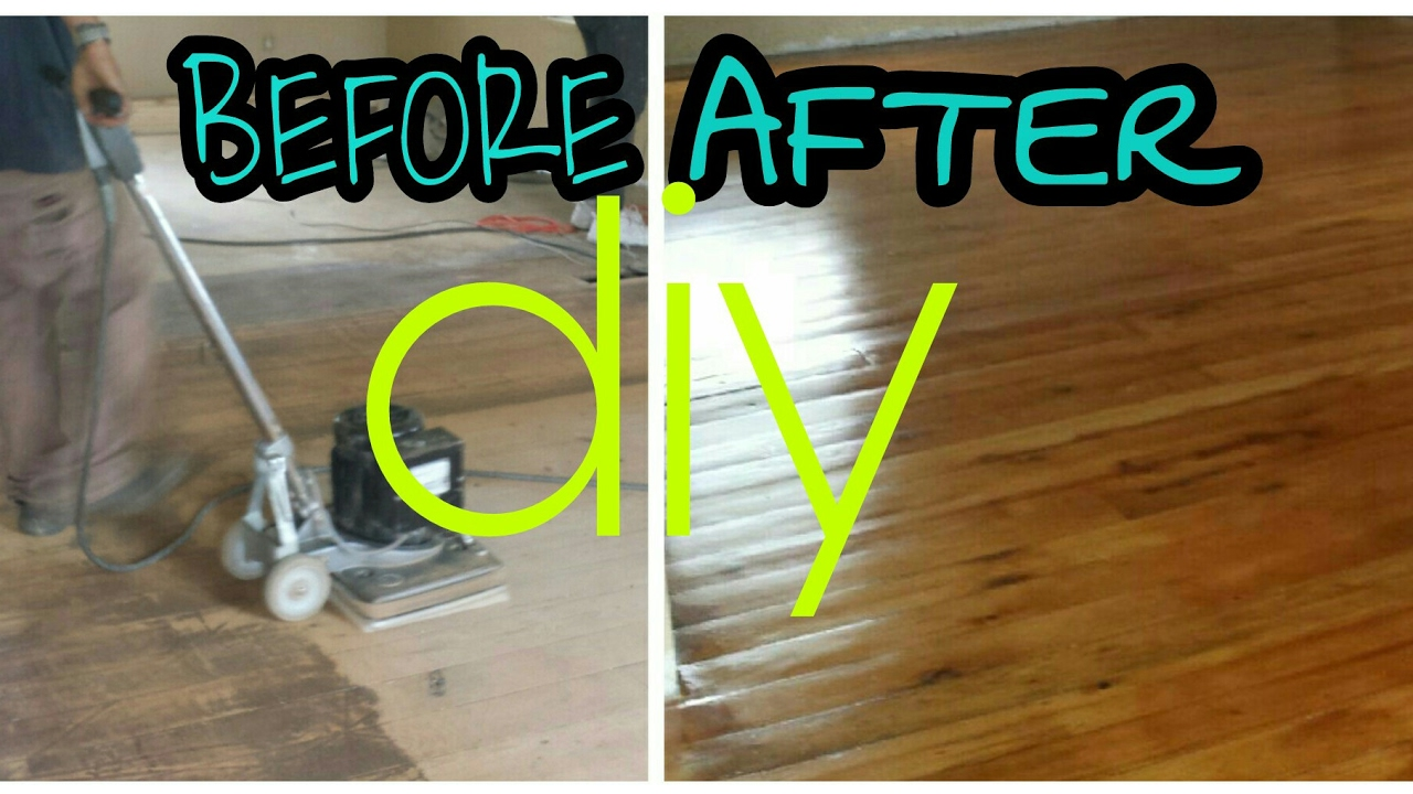 How We Refinished 100 Year Old Original Pine Wood Floor Diy