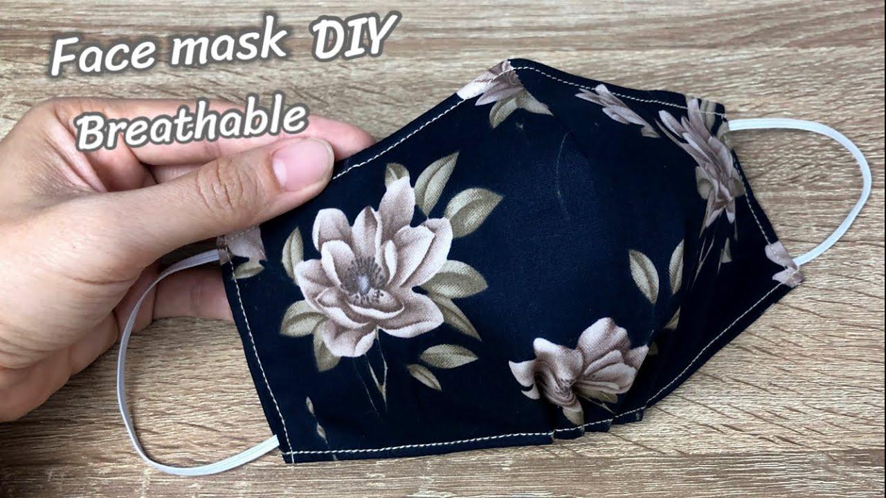 How DIY Breathable face mask | วิธีทำหน้ากากผ้า หายใจสะดวก