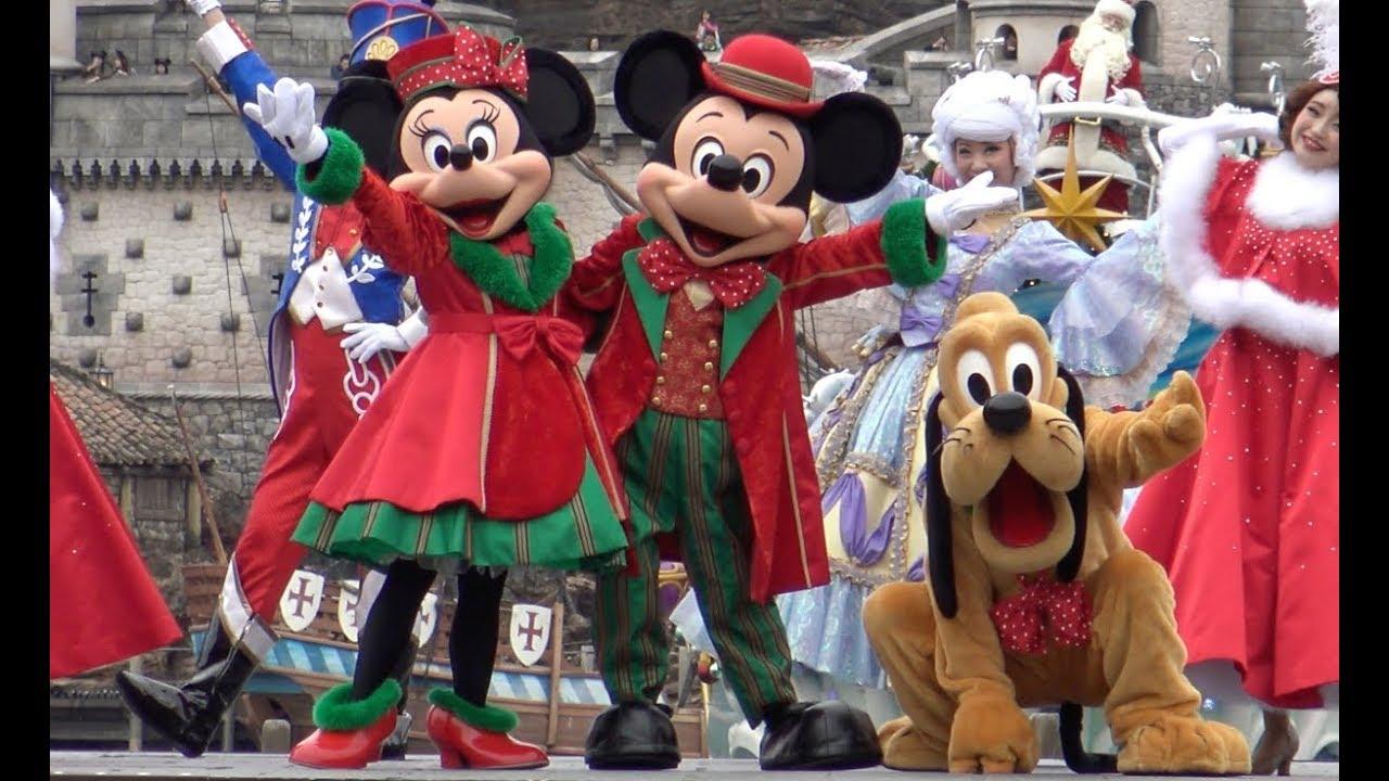 ºoº 初日 ミッキー広場 ディズニー パーフェクト クリスマス 2017