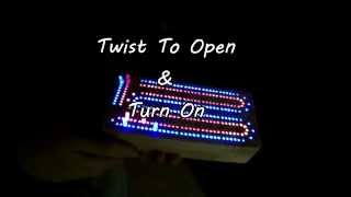 Led Lighted Cribbage Board  Www.rndhobbies.com