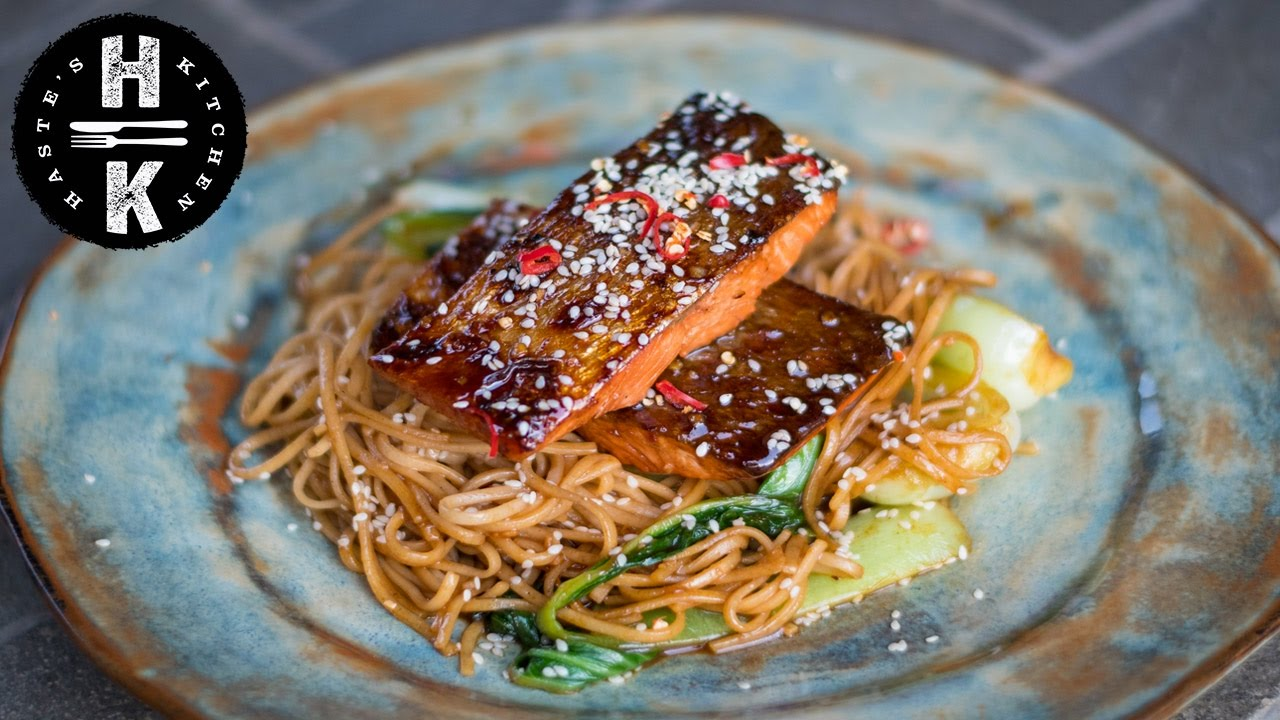 Teriyaki Salmon Youtube