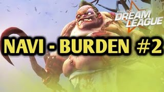 Dendi Pudge | NaVi vs Burden United Highlights Game 2 Asus ROG Dreamleague 2015