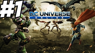 [ITA] DC UNIVERSE ONLINE #1