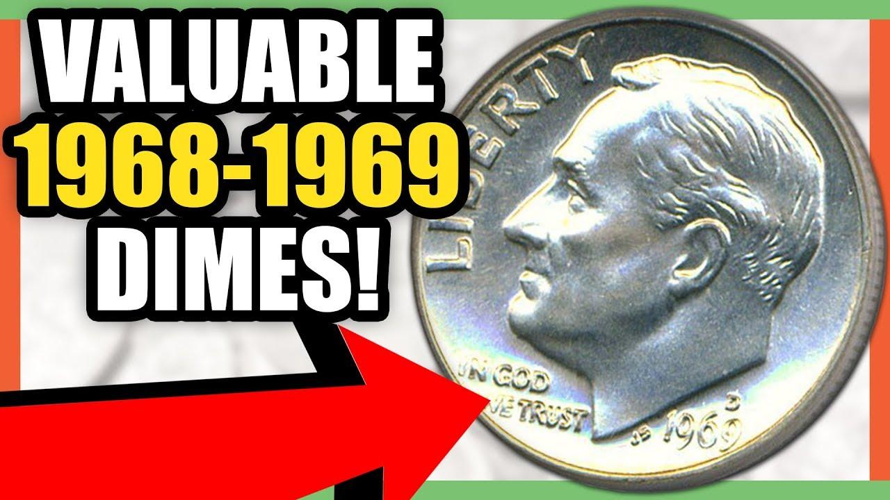 1968 1969 DIMES WORTH MONEY