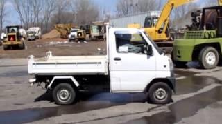 1999 Mitsubishi minicab truck Demo