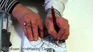 Gambar cover Yoko' Art Class - Printmaking with Styrofoam