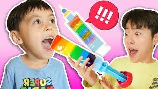 과일 아이스크림 주사 아이스크림 만들기!!! Fruit Ice Cream- 마슈토이 Mashu ToysReview