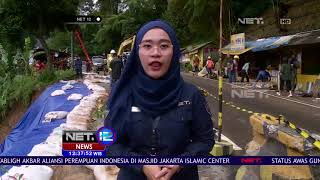 Akibat Dampak Longsor Kawasan Puncak Bogor - NET 12