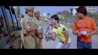 Aadab hyderabad movie || police men fooled by hyder ali comedy scene