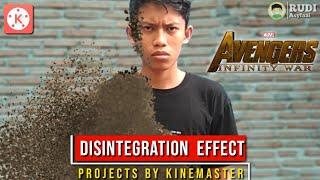 Tutorial Disintegration Effect Kinemaster Efek Melebur