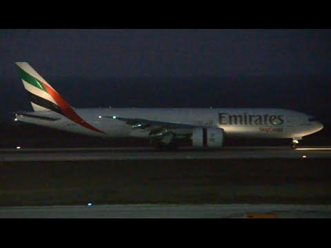 [HD] Sunset /Night landings & Takeoffs ; Curacao International Airport.