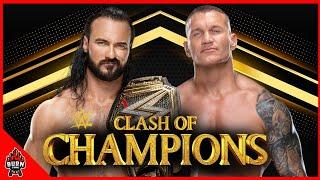 WWE RANDY ORTON VS DREW MCINTYRE - CLASH OF CHAMPIONS