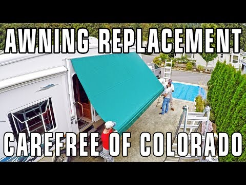 How To Replace an RV Patio Awning - Carefree of Colorado