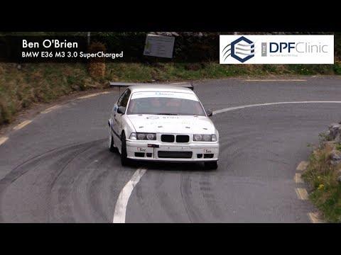 BMW E36 Super Charged Ben O'Brien Irish Hillclimb 2017