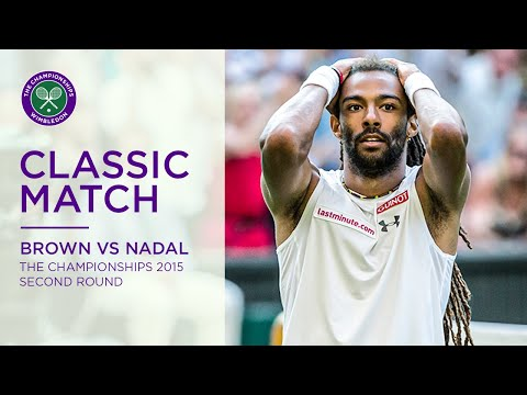 Dustin Brown vs Rafael Nadal | Wimbledon 2015 second round | Full Match