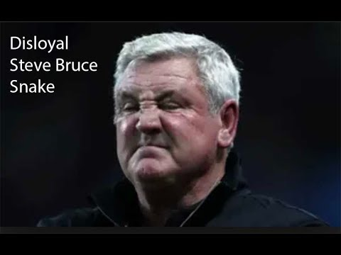 Disloyal Steve Bruce At Sheffield Wendesday F.C.