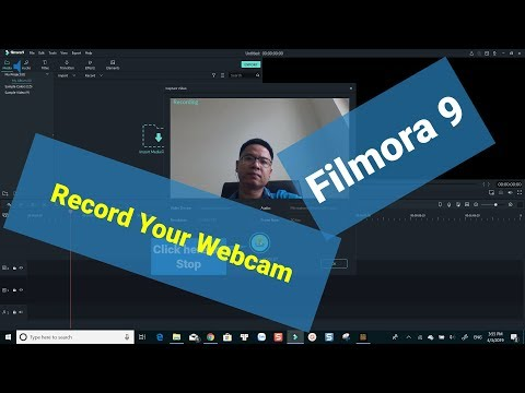 Wondershare Filmora 9 Tutorial: Recording Webcam