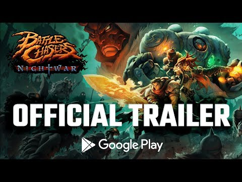 Battle Chasers: Nightwar - Mobile Edition // Official Trailer