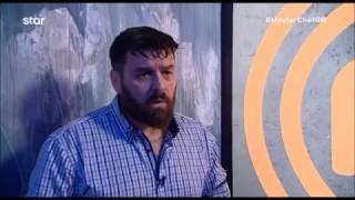 MasterChef Greece 2018 (Επ. 7) - Εκνευρισμένος μετά την αποχώρησή του ο Αλκιβιάδης Αϊβάζης.