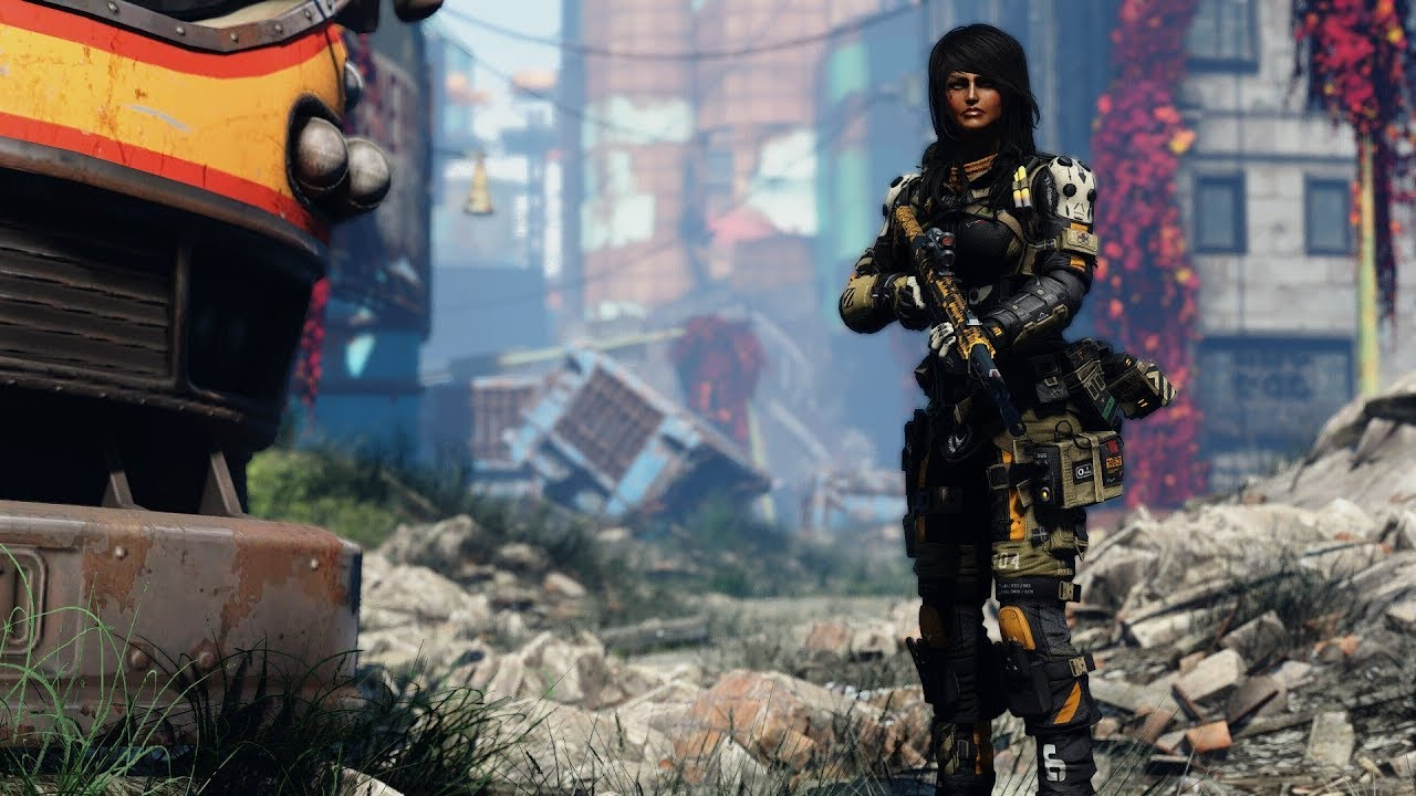 Fallout 4 Mod Showcase TitanFall 2 Pulse Armor - YouTube