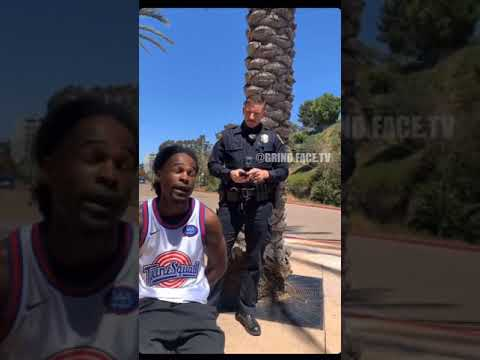 🤔Officer M Dages of La Mesa Police Department  #grindfacetv