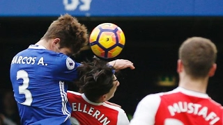 Chelsea 3-1 Arsenal - All Goals & Highlights (English Commentary) - EPL 4 February 2017