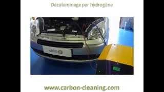 Nettoyage vanne EGR sur citroen picasso 1L6 HDi avec Carbon Cleaning