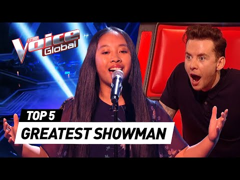 GREATEST SHOWMAN covers in The Voice Kids