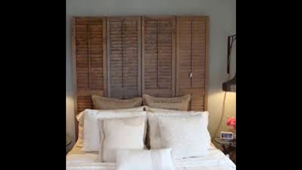 Diy Shutter Headboard Ideas
