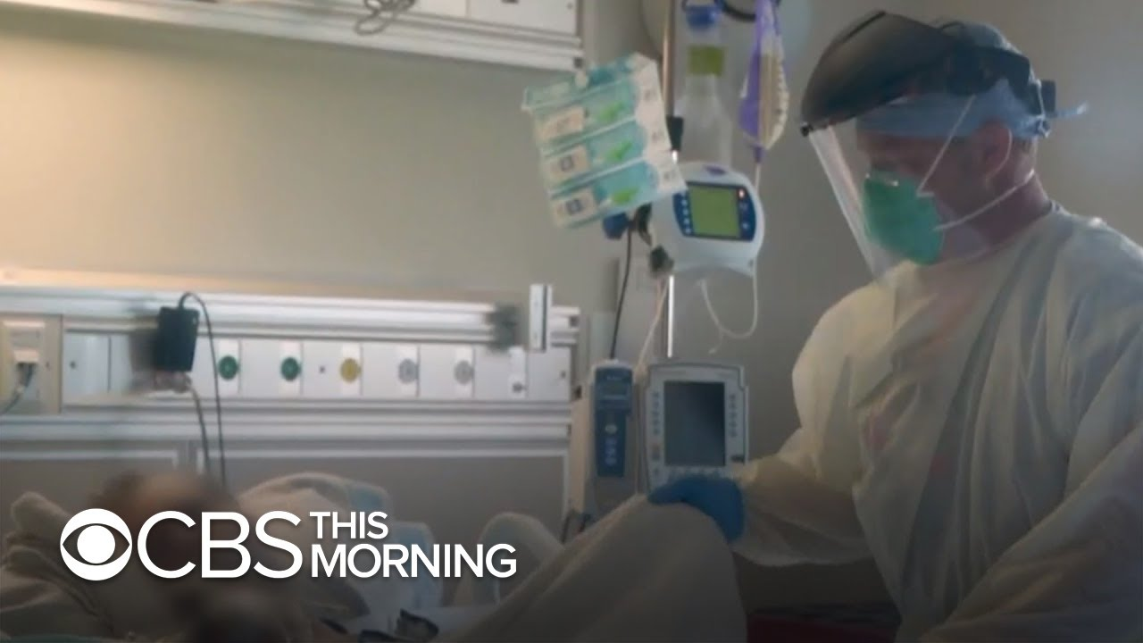 U.S. sees more than 3300 coronavirus deaths in one day as hospitals struggle - CBS This Morning