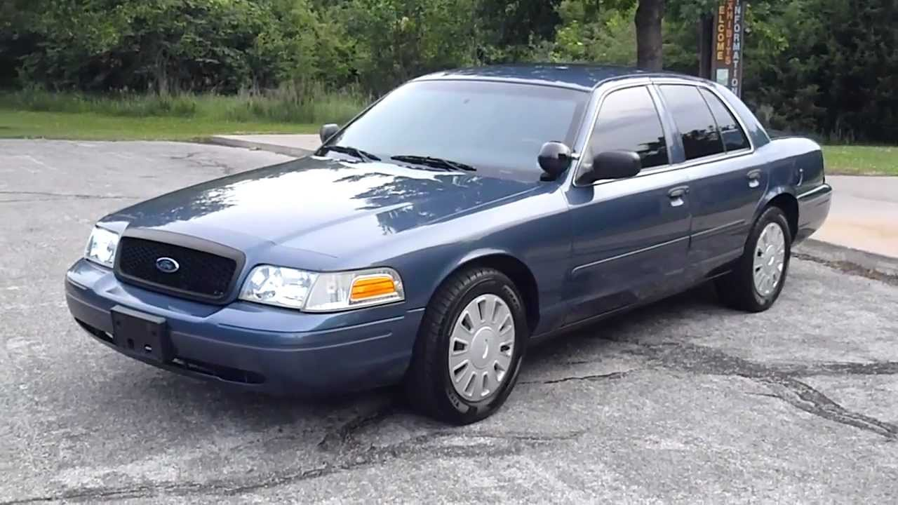 2008 FORD CROWN VICTORIA POLICE INTERCEPTOR - YouTube